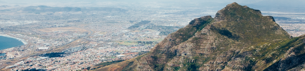 Table Mountain, Cape Town by Kevin Healy on Unsplash