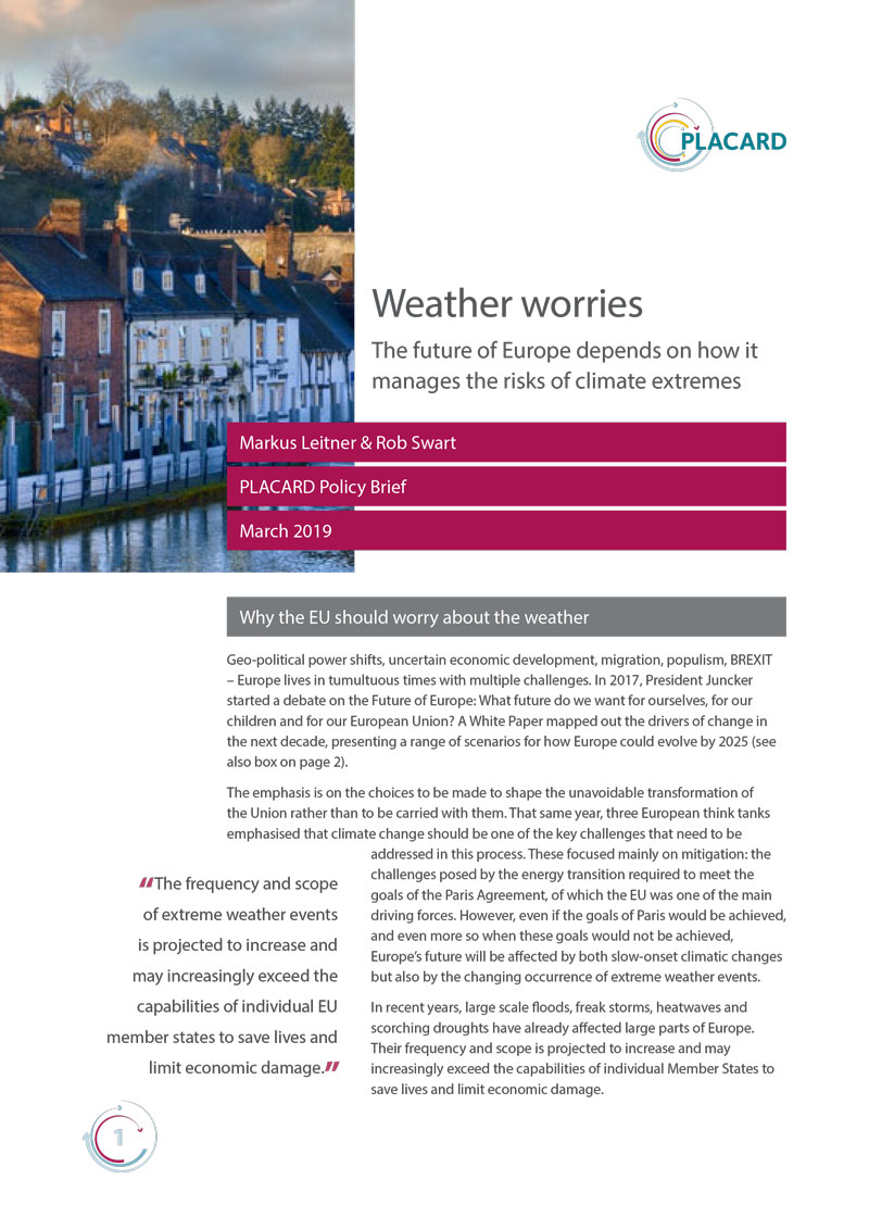 Weather worries policy brief  cover