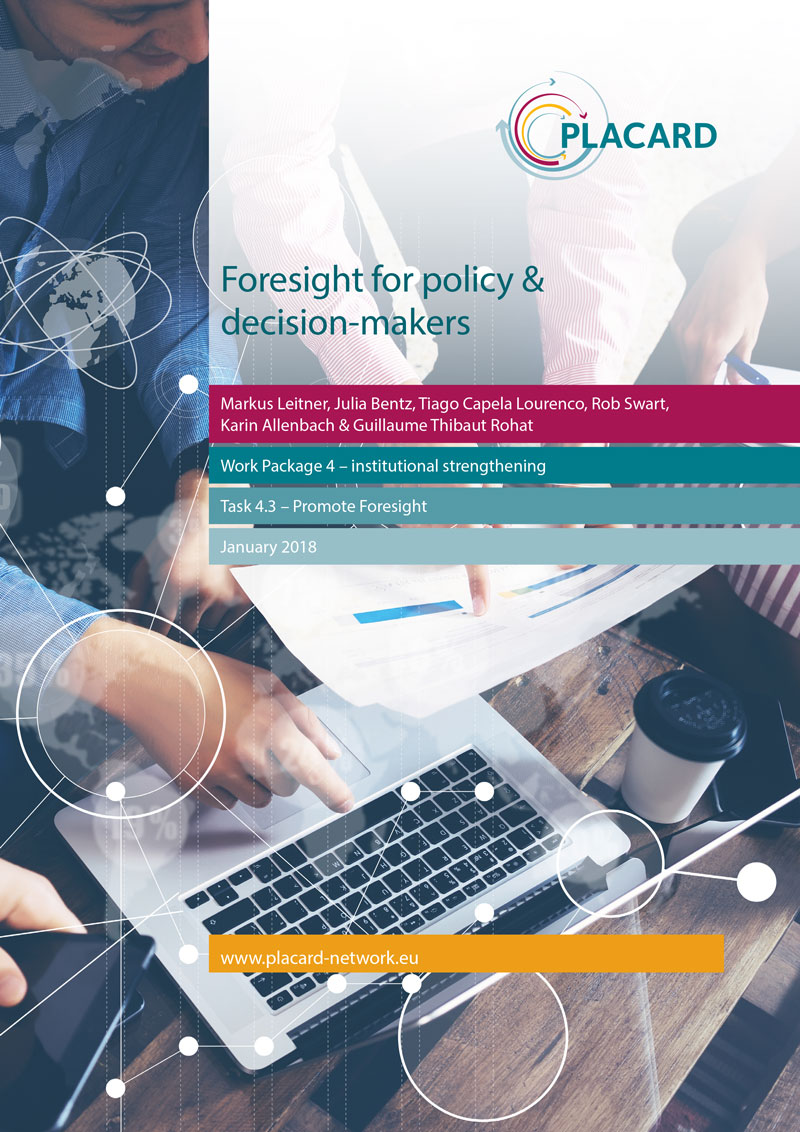 Foresight for policymakers report cover