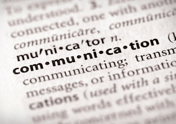 Words, highlighting communication