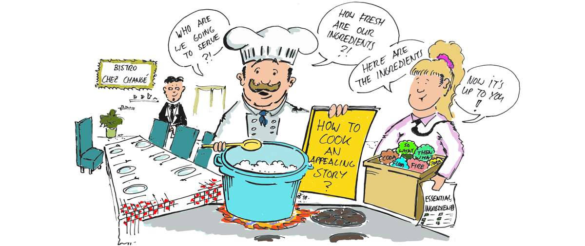 Resilience chef cookbook image. Illustration by Bertram de Rooij